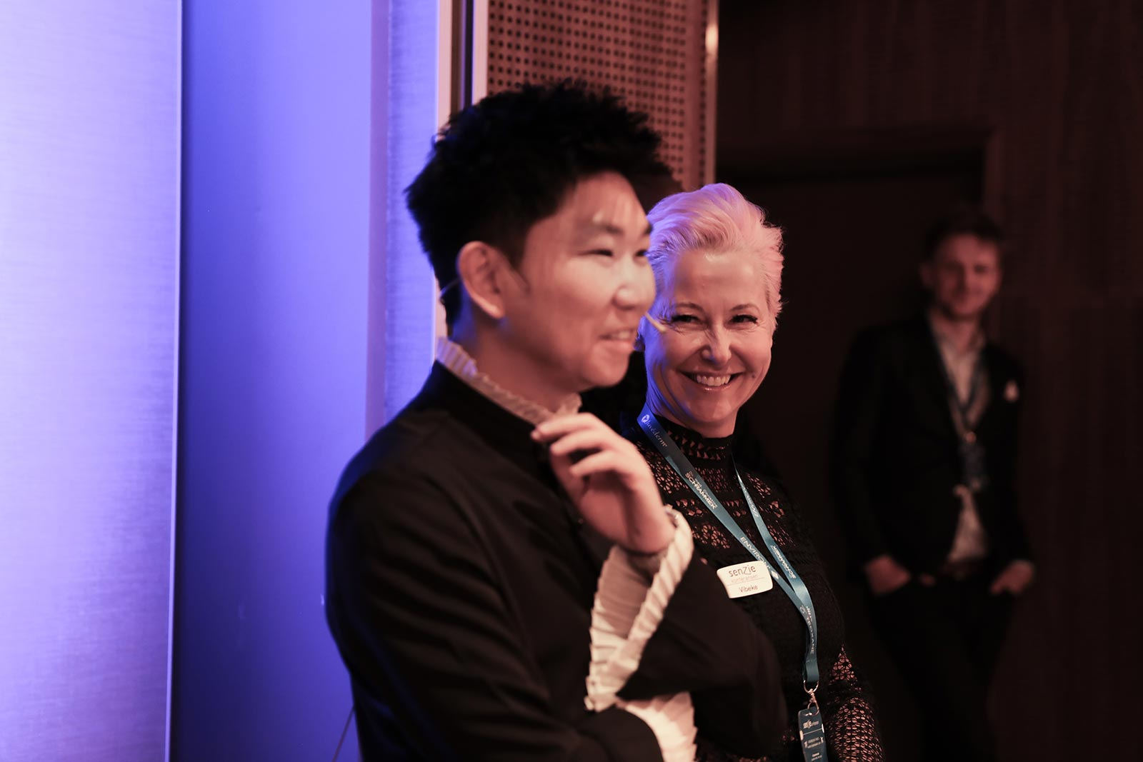 Senzie Conference 2019 - Dr. Kieren Bong and Vibeke Sundene